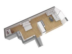 Upper Floor Side View